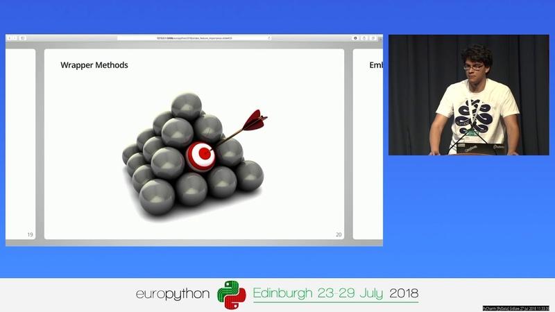 Good features beat algorithms – Pietro Mascolo