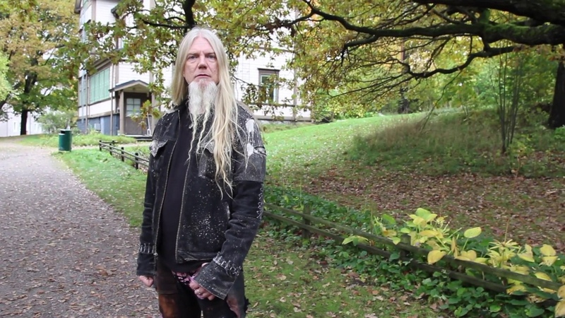 Marco Hietala - Interview Book Release Event - Helsinki (11/10/2017)