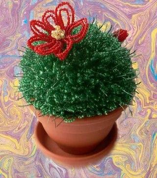 Бисероплетение цветы из бисера - Делаем фенечки своими руками.