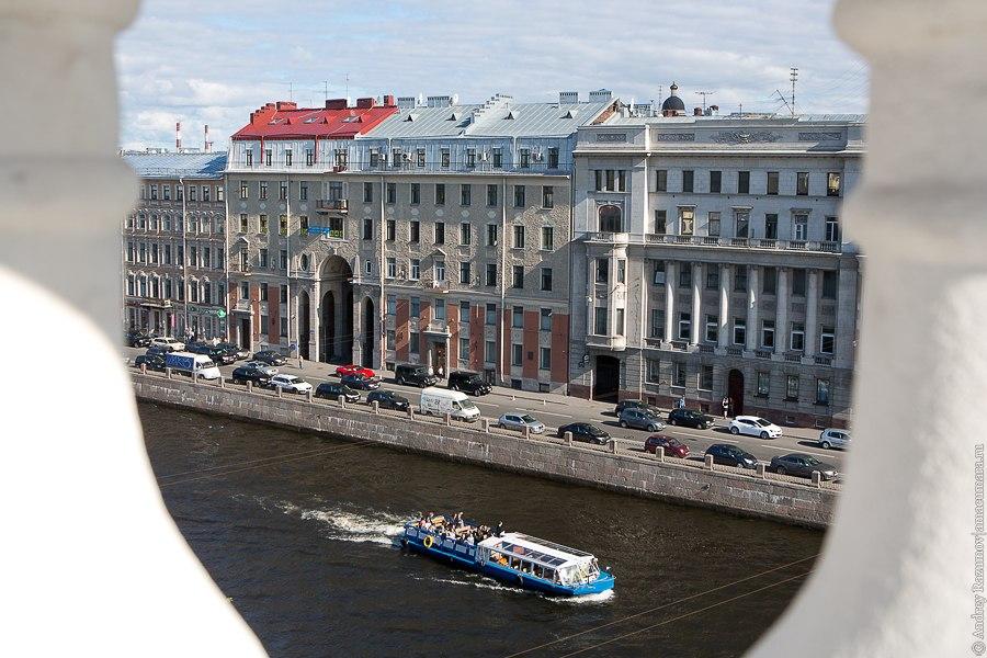 Прогулки по крыше в Санкт-Петербурге Фонтанка