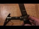 Нож походный, искусственно состаренный