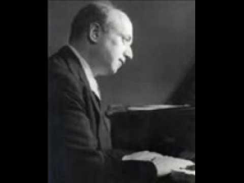 Simon Barere plays Chopin Scherzo 3 in C minor