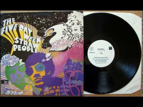 The Five Day Week Straw People The Attack – The Five Day Week Straw People 1968,Psychedelic Rock, M