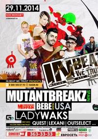 29.11.14 IBWT feat. MUTANTBREAKZ & DJ BEBE