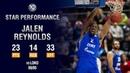 Единая баскетбольная лига (матчи 11-19 гг.) • Star Performance. Jalen Reynolds Activates Playoff Mode vs Loko - 23 PTS, 14 REB