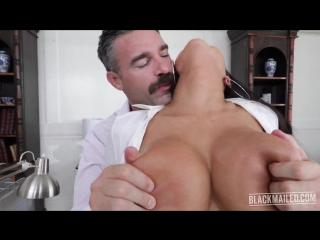 August Taylor / Secretarys Blackmailed Office Fuck / Busty Big Boobs MILF HD