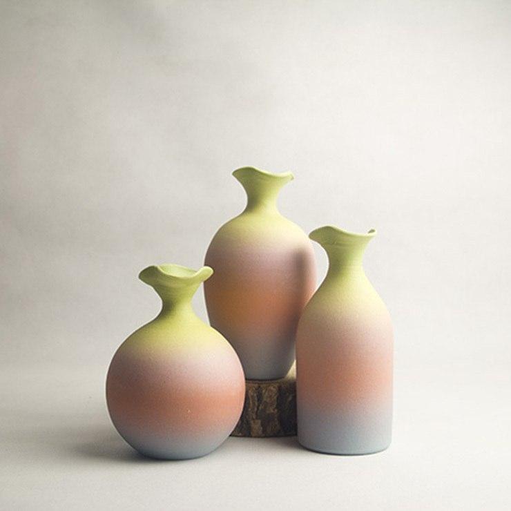 Градиентные вазочки -