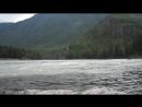 Республика Алтай. Велопробег. Слияние рек Катунь и Урсул.