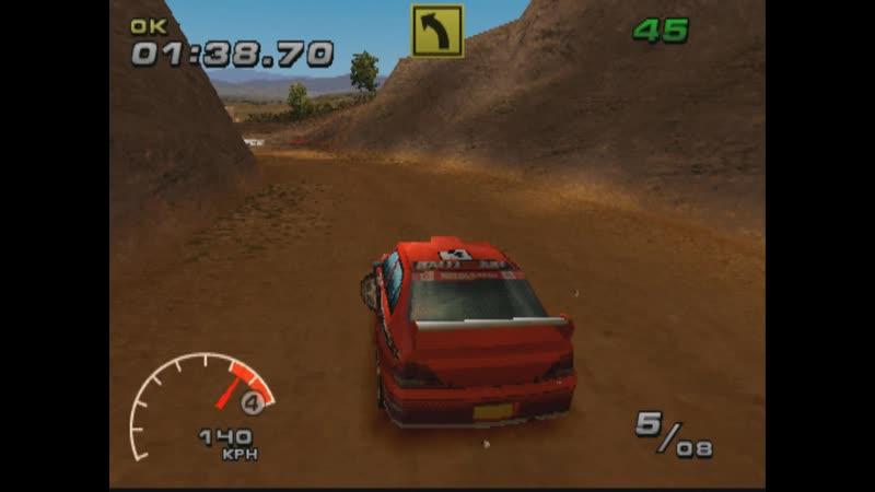 WRC FIA WORLD RALLY CHAMPIONSHIP ARCADE SUPER SPECIAL REVERSE EASY MITSUBISHI LANCER EVOLUTION WRC PS1 2002