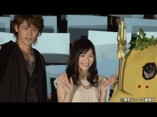 【TNS動画ニュース】AKB48・渡辺麻友と宮野真守を、ふなっしーが