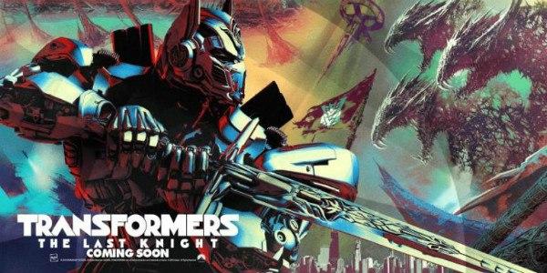 Встречайте, первый постер к очередному фильму о пришельцах-роботах «Трансформеры: Последний рыцарь».