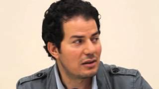 Hamed abdel Samad bei der Deutsch-Israelischen Gesellschaft