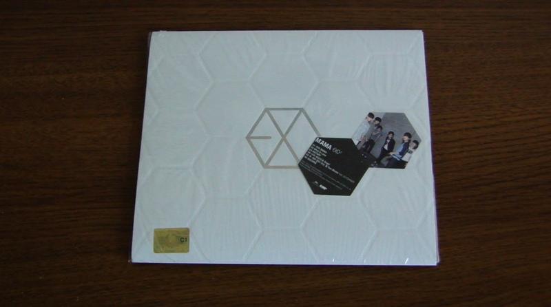 [UNBOXING] EXO K- MAMA (The 1st Mini Album)