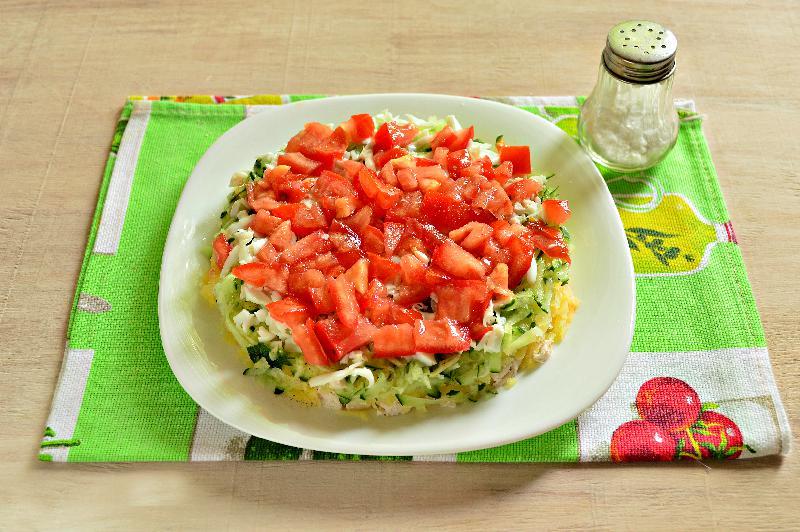 Рецепты новогодних салатов без майонеза с фото