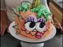 Pumpkin Head Cake / Cake Decorating / Halloween