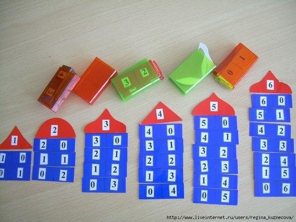 Дидактические материалы для дошкольников своими руками
