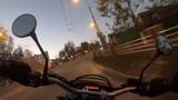 MOTO32 A boring drive through the city Скучная езда по городу