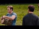 Тони Старк и Стивен Роджерс колют дрова. Разговор Старка и Фьюри. Мстители: Эра Альтрона. 2015.