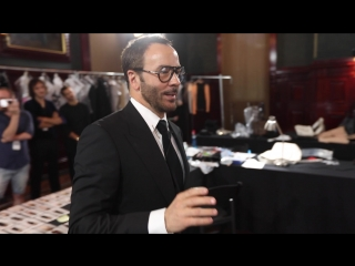 Behind the scenes of the TOM FORD SS19 Show