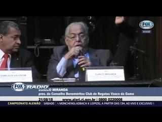 CAIU NO CHORO! Eurico Miranda se emociona em homenagem ao Vasco na ALERJ