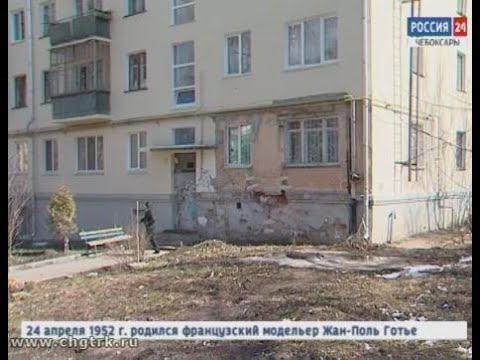 Стена жилого дома на улице Энгельса дала трещину после капитального ремонта фасада