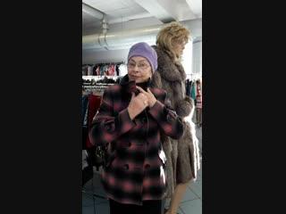 Гертруда Михайловна в пальто от DOLCE