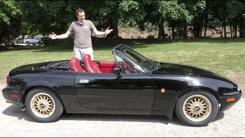 Вот почему оригинальная Mazda Miata это легенда