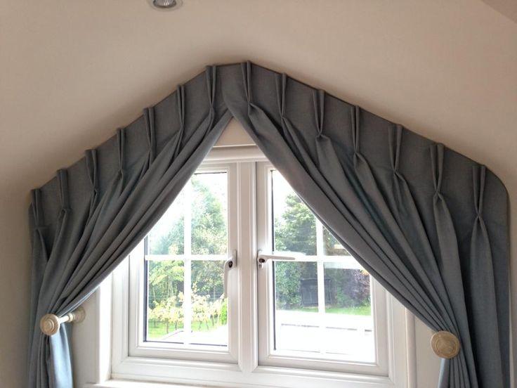 Идеи для штор на нестандартные окна