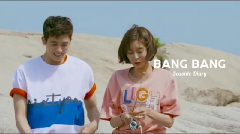 Юи и ХенШик для бренда Bang Bang