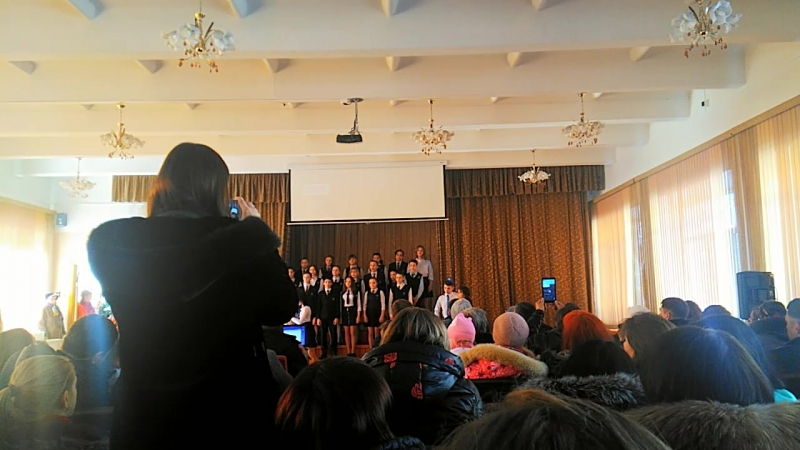 Битва хоров Настя 6 класс