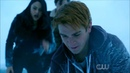 Riverdale 1x13 - Archie saves Cheryl at the frozen lake