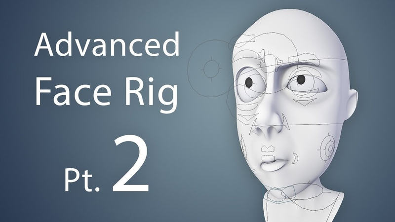 CGCookie: Creating an Advanced Face Rig Pt. 2 (Blender 2.6)