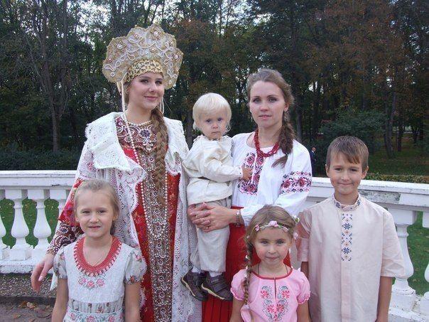 Приобщение детей к народной культуре