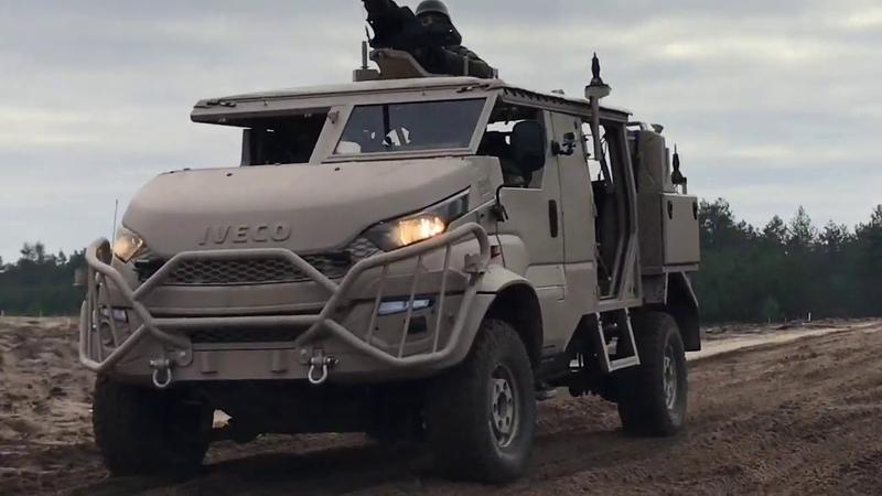Krijgsmacht zet nieuw terreinvoertuig in