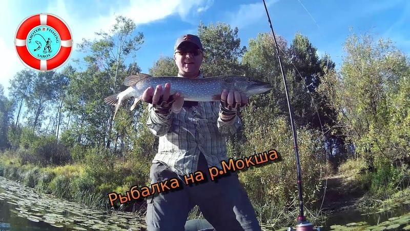 Ловим рыбу для УХИ (р.Мокша Мордовия)