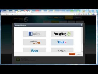Видеоурок #1: Делаем слайдшоу онлайн в Proshow Web