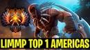 Rekting In Top 1 Rank Americas - Limmp Bloodseeker Immortal Number 1 - Dota 2
