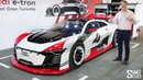 Audi e-tron Vision Gran Turismo - FIRST EVER REAL CAR DRIVE!