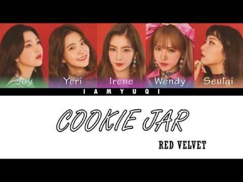 RED VELVET - 'Cookie Jar' Lyrics Color Coded [KAN/ROM/ENG]