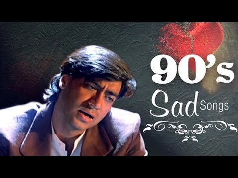Best Of 90s Sad Songs JUKEBOX (HD) - Dard Bhare Naghmein - Evergreen Hindi 90s Romantic Songs