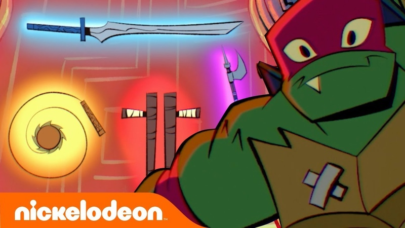 Learn about the Tonfas, Kusari-Fundo, Tech-Bo, Ōdachi Sword🗡️Rise of the TMNT   TurtlesTuesdays