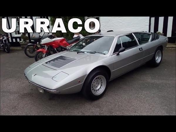 Lamborghini Urraco Walkaround Leaving Show