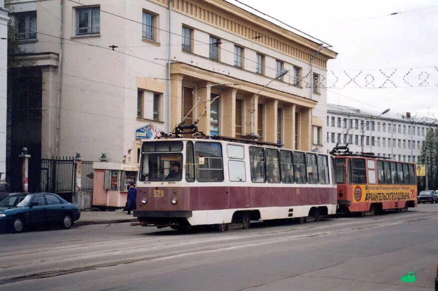 Архангельский трамвай