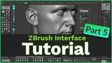 ZBrush User Interface Tutorial Part 5