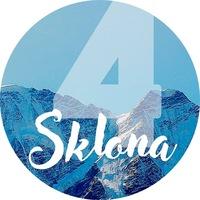 Логотип 4Sklona / Эльбрус / Архыз / Домбай / Поляна