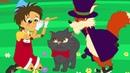 Пиноккио сказка для детей, анимация и мультик