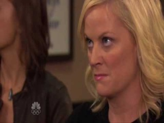 Leslie Knope' temper tantrum
