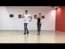 Andey Marina Bachata Beginner Footwork 1