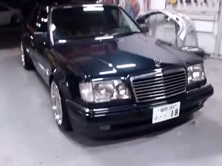 W124 E500 アンロック連動フォグ・スモール点灯