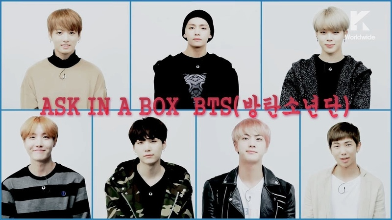 [Озвучка by Cara Linne] ASK IN A BOX BTS(방탄소년단) Blood Sweat Tears(피 땀 눈물)